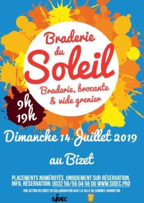 Braderie du Soleil 2019 le Bizet